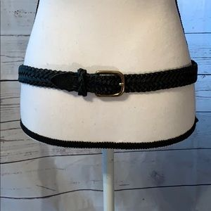 NWOT Capezio Genuine Black Leather Belt.